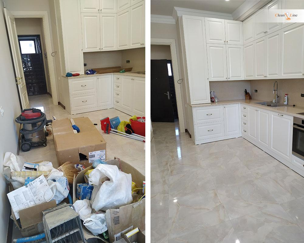 After renovation / construction