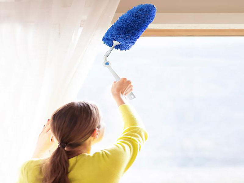 Measures to help reduce dust at home