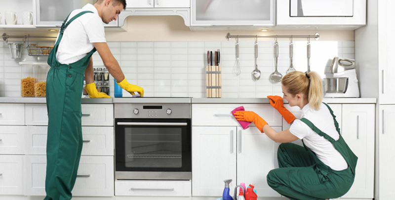 7 practic tips to clean the kitchen