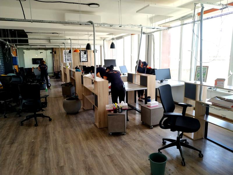 Գրասենյակային տարածքներ