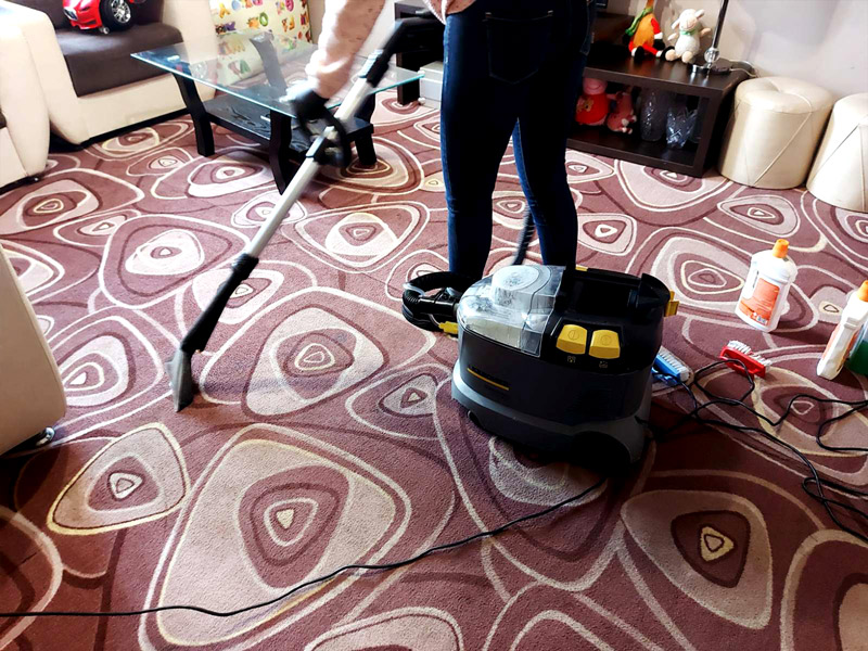 Area rug cleaning Chem. cleaning
